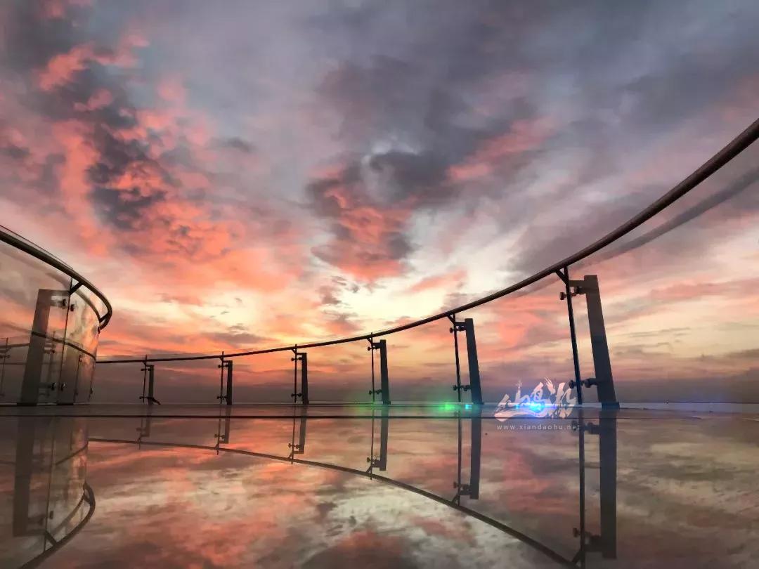 仙岛湖天空之城